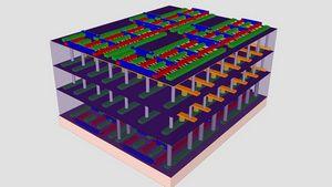3D микрочип, в 1000 раз быстрее существующих