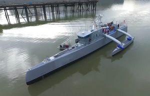 Actuv — беспилотный противолодочный корабль-разведчик