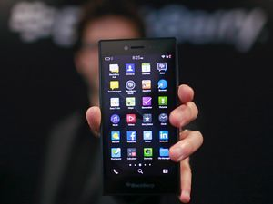 Blackberry представила смартфон leap и анонсировала необычную модель