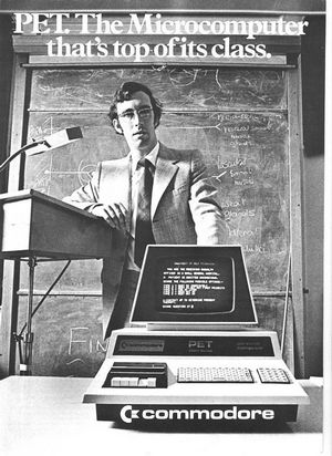 Commodore pet 2001 — домашний компьютер из прошлого