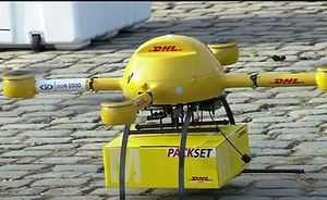 Dhl запускает беспилотную доставку в германии