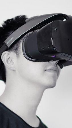 Дрон + очки виртуальной реальности