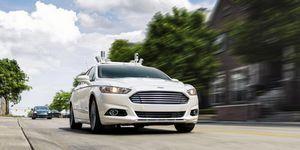 Ford на пути к автономным автомобилям