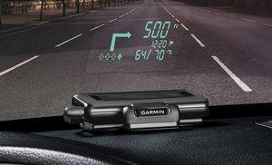 Garmin hud: навигатор с проектором для лобового стекла автомобиля
