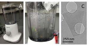 Графен можно получать с помощью кухонного блендера и жидкости для мытья посуды