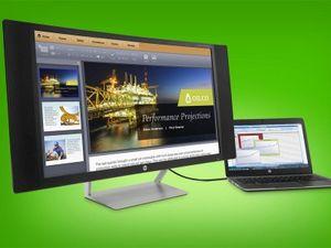 Hp выводит на рынок новые изогнутые мониторы с разрешением 4k и 5k