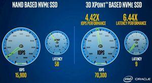 Intel показала ещё два теста 3d xpoint
