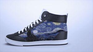 Интерактивные кроссовки shiftwear меняют дизайн по желанию своего владельца