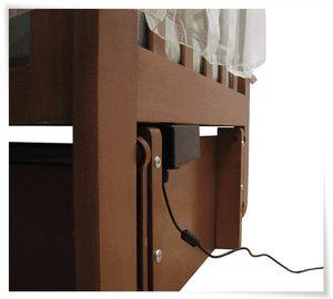Интерфейсы для устройства качания детской кроватки – от брелока до web
