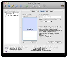 Как отформатировать жесткий диск в mac os x?