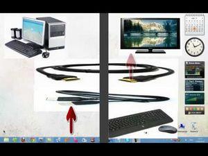 Как подключить компьютер или ноутбук к телевизору через hdmi?