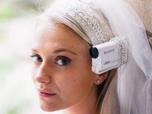 Камера sony и головные уборы bride's eye view позволят увидеть свадьбу глазами невесты