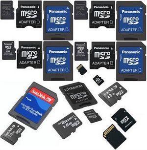 Классификация карт памяти