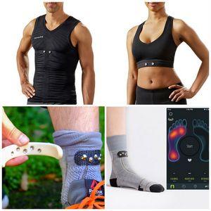 Комплект умной одежды от sensoria для любителей бега: сам себе фитнес-трекер