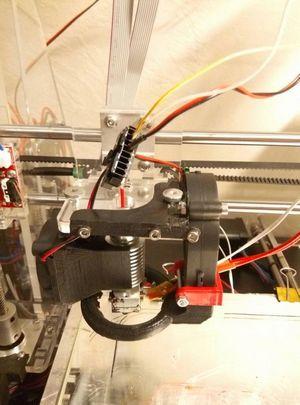 Конструктор 3d-принтера от sunhokey в процессе эксплуатации (часть вторая)