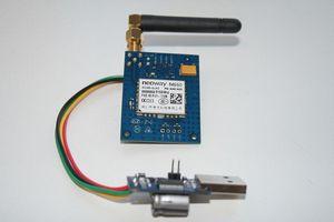 Контролируем температуру по sms (arduino nano + neoway m660)