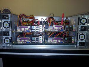 Квартет atom'ов. решение для оптимального размещения дешевых компьютеров в стойке