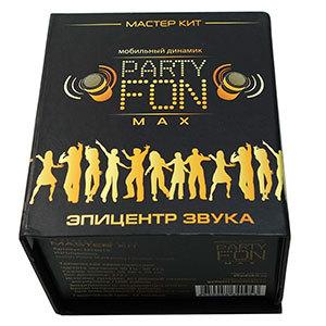 Mобильный вибро-динамик party fon max