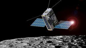 Nasa готовит рой микроспутников к луне