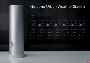 Netatmo urban weather station. первая полезная метеостанция