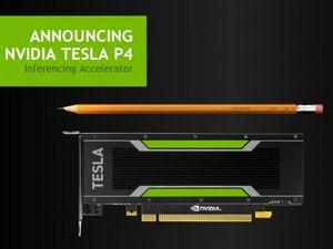 Nvidia выпускает графические ускорители tesla для ускорения глубокого обучения