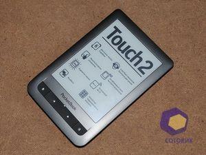 Обзор 6-дюймового ридера pocketbook touch