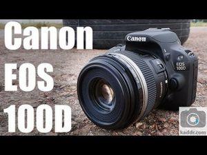 Обзор фотокамеры canon eos 100d