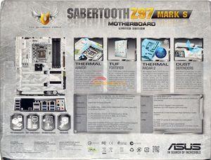 Обзор материнской платы asus sabertooth z97 mark s
