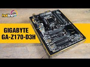 Обзор материнской платы gigabyte ga-z170-d3h