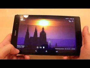 Обзор планшета sony xperia z3 tablet compact