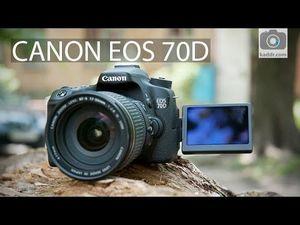 Обзор зеркальной фотокамеры canon eos 70d