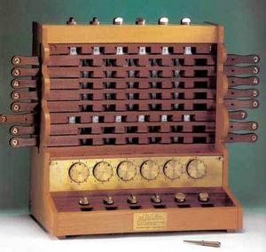 Первое в мире счетное устройство — машина шиккарда