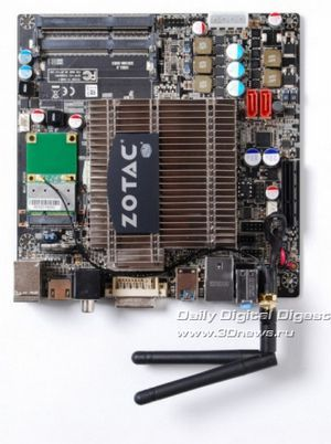Платформа nvidia ion в формате mini-itx от zotac: обновление