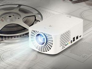 Портативные проекторы lg minibeam можно подключать к компьютеру без проводов