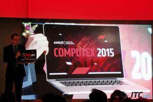 """Презентация шестого поколения мобильных процессоров amd a-серии """"carrizo"""" [computex 2015]"""