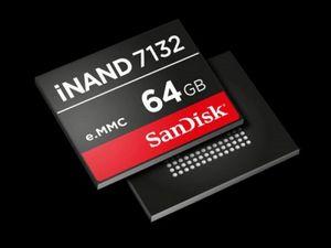 Sandisk inand 7132 - память для мобильных устройств нового поколения с высокой пропускной способностью