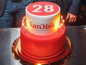 Sandisk отмечает своё 28-летие