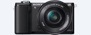 Sony a5000 – компактная и легкая цифровая камера со встроенным wi-fi