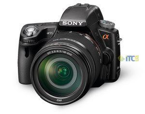 Sony alpha slt-a55v: первый взгляд