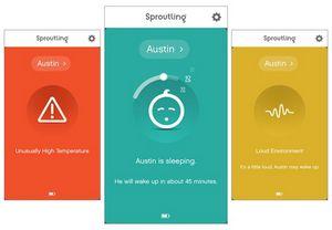 Sproutling: фитнес-трекер, электронная няня и система безопасности для ребенка