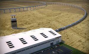 Строительство hyperloop начнётся в следующем году