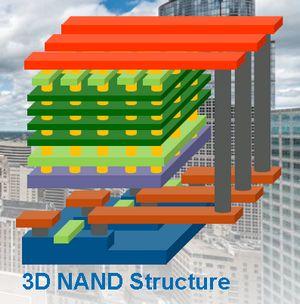 Технология флеш-памяти 3d nand