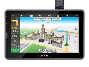 Texet готовится расширить линейку gps-навигаторов