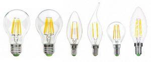 Thomson filament — светодиодные лампы нового поколения