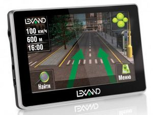 Тонкий навигатор с 6-дюймовым wvga-экраном: lexand st-610 hd