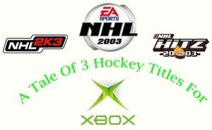 Три симулятора хоккея для xbox
