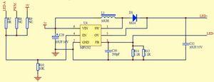 Управление яркостью подсветки 7-ми дюймового tft lcd