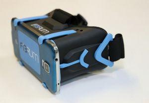 Успеть под ёлку-2: шлем виртуальной реальности fibrum работает с любыми смартфонами от 4 до 6 дюймов
