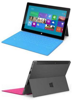 В цветной обложке: microsoft показала планшеты surface