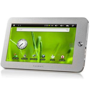 В начале 2011 года texet представит планшетный компьютер texet tm-7010 на android 2.1